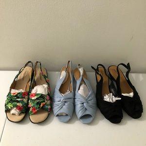 Bundle of NEW Flats Sandals
